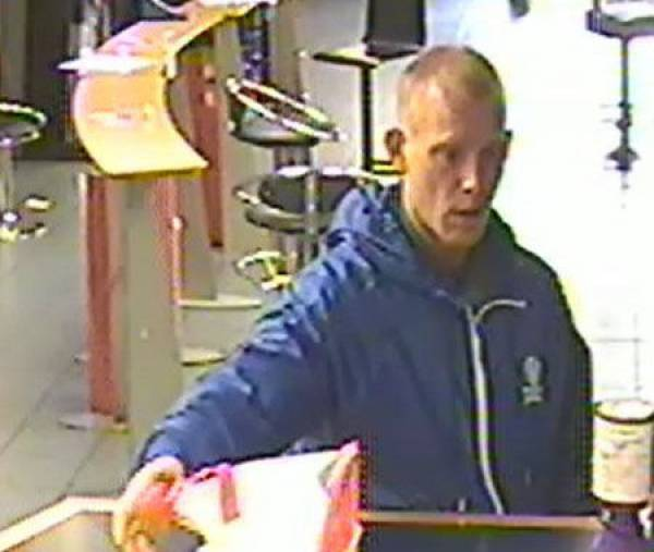 Midday Bookmaker Robbery Caught on CCTV