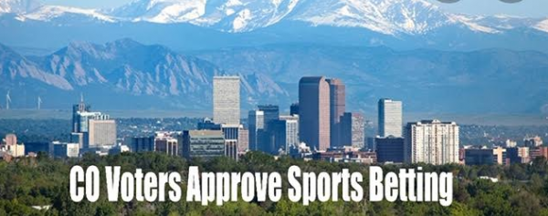 Colorado Voters Narrowly Approve Sports Betting