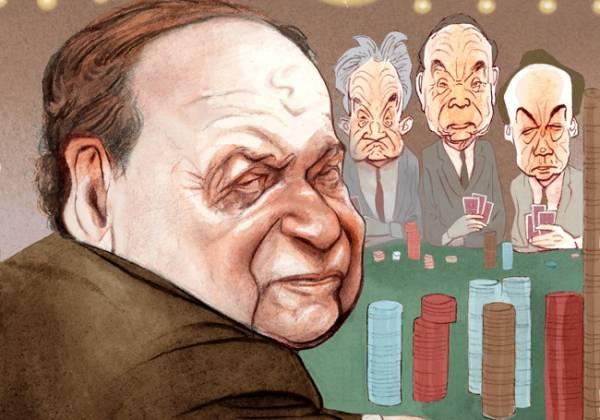 Hedge Fund Billionaires Take Stake in Caesars Online Gambling: Take on Adelson