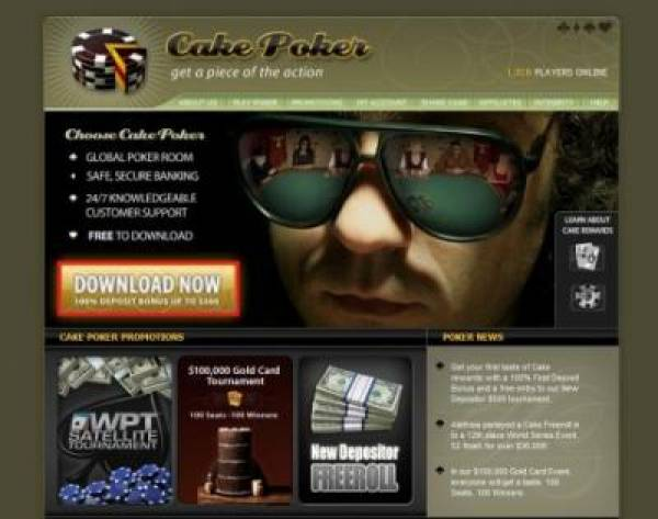 Cake Poker Cashouts