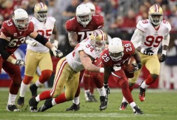 49ers Vs Cardinals Betting Line Monday Night Football