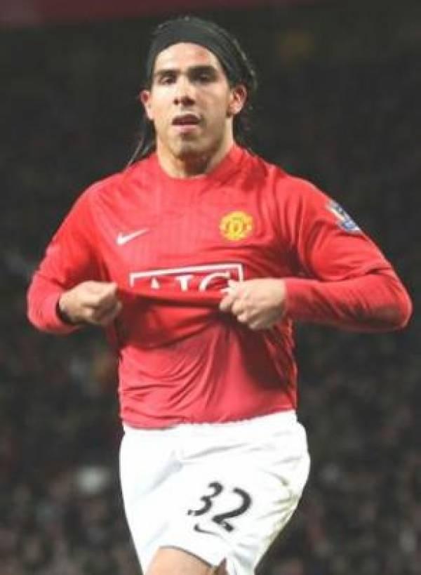 Carlos Tevez Man City