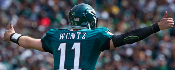 Eagles Odds to Win Super Bowl Will Go From 4-1 to 10-1 With Wentz Injury
