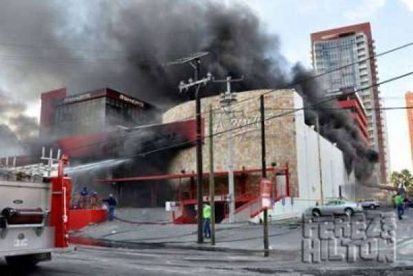 Mexico Casino Torched