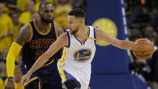 NBA Finals Game 3 Betting Line at -9 for Warriors vs. Cavs