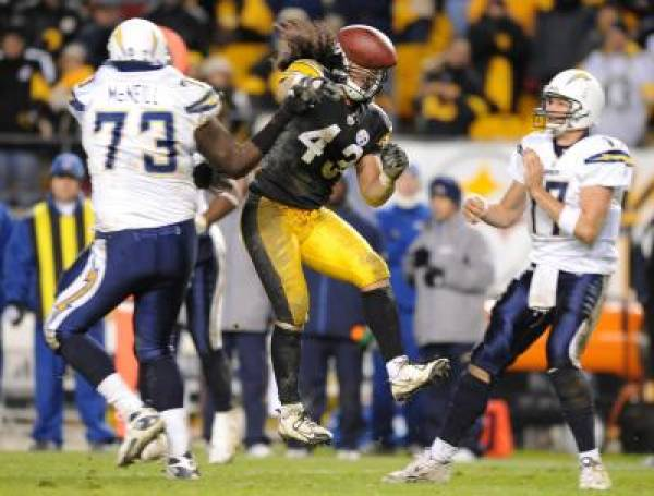 Chargers vs. Steelers
