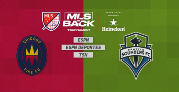 Chicago Fire vs Seattle Sounders Picks, Betting Odds - Monday July 12