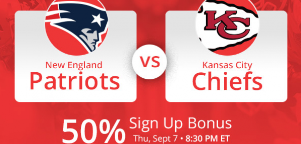 Bet the Chiefs-Patriots Week 1 NFL Thursday Night Football Game – Latest Odds