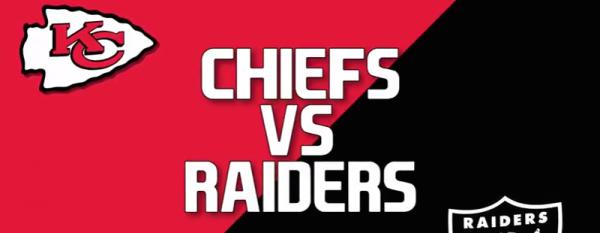 Bet the Kansas City Chiefs vs. Raiders Game Online - December 2