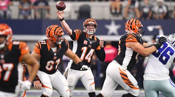 NFL 2017 Futures Betting – Cincinnati Bengals