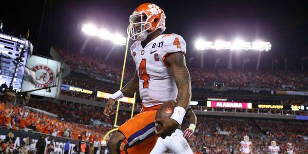 Clemson Win Not All Smiles for Bookies: Most Bet on College Football Game