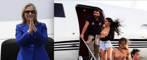 Hillary Clinton on the 'No Fly List': Banned From Using Dan Bilzerian Plane