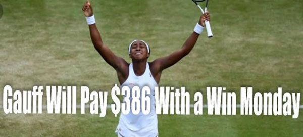 How Much Does Coco Gauff Pay Out to Beat Simona Halep Monday?