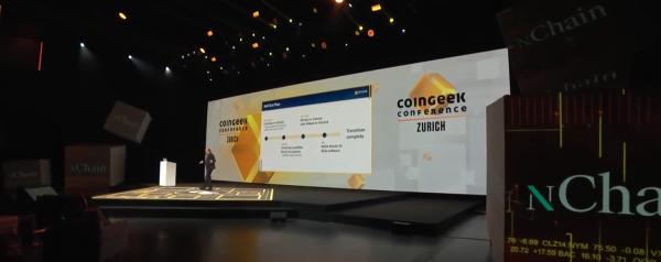 Coingeek Zurich Day 1 - BSV Blockchain Ignites the Power of Data