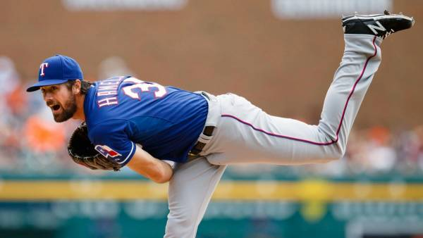 Cole Hamels DFS Outlook – April 9: Solid Versus Angels