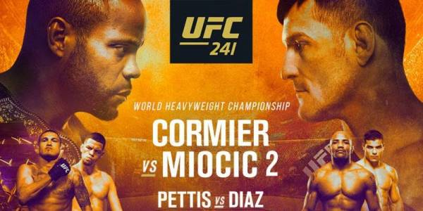 Where Can I Watch, Bet The Cormier vs Miocic Fight - UFC 241 - Chicago