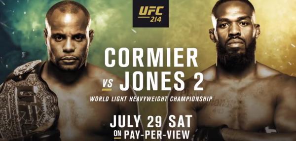 Cormier vs. Jones 2 Fight Betting Odds