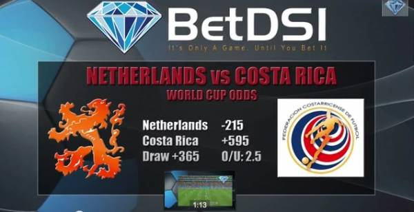 Costa Rica vs. Netherlands World Cup Betting Odds