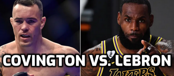 Where to Bet on Colby Covington vs. LeBron James - Prop Odds