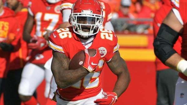 Chiefs Take Hit With RB Damien Williams Opting Out of 2020 Season
