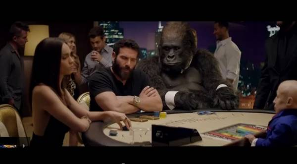 Dan Bilzerian Plays Poker With Mini Me A Gorilla