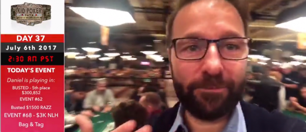 Daniel Negreanu $50K Players Championship Final Table Bust in 5th as it Happened