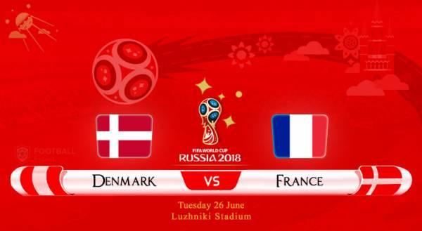 Denmark vs. France Betting Tips, Latest Odds - Group C Winner