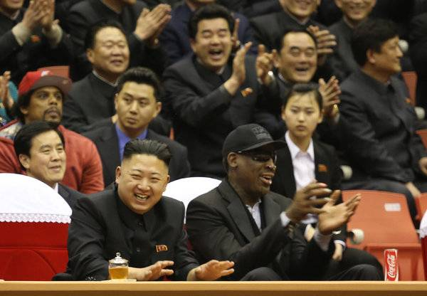 Online Bookmaker Paddy Power Sponsors Dennis Rodman 2nd North Korea Trip