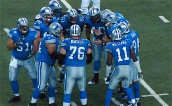 49ers-Lions Line
