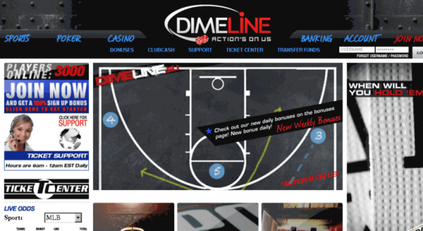 Dimeline Sportsbook Can't Offer Odds: Bettors in Limbo