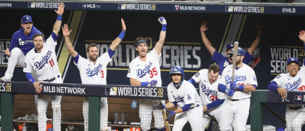 Dodgers Win World Series Title, Lose Turner to COVID-19
