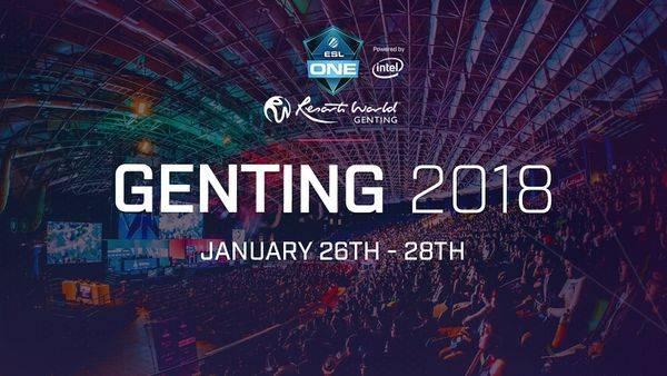 eSports Betting Odds January 22 - ELEAGUE Major Boston 2018, ESL One Genting 2018, More