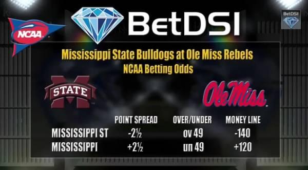 Egg Bowl 2014 Betting Odds – Free Pick: Mississippi State vs. Ole Miss