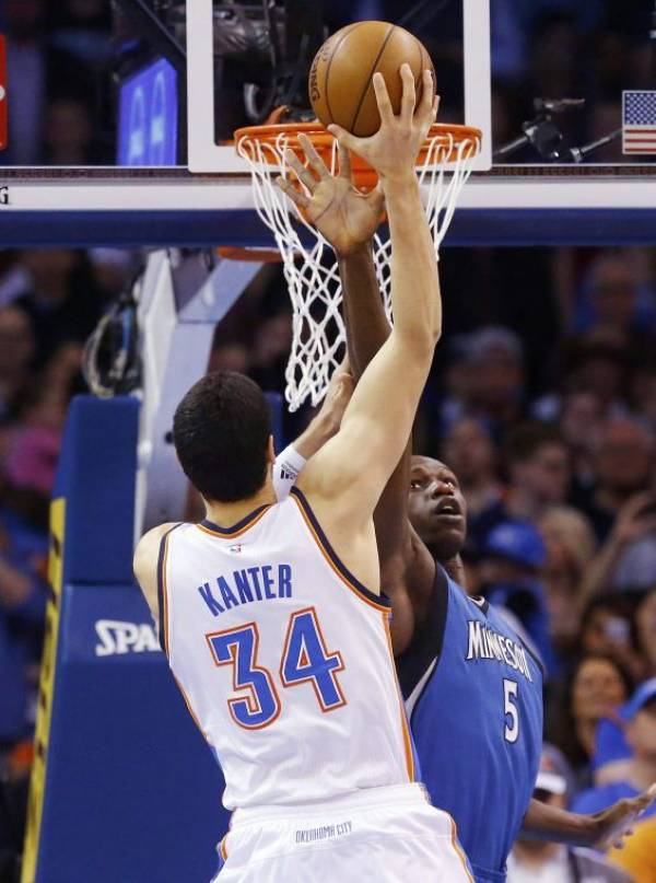 Enes Kanter Kills It for Daily Fantasy Players