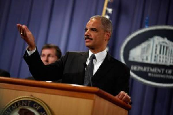 Eric Holder Mob Bust