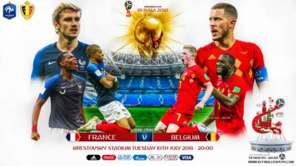 Need a Bookie, Pay Per Head for France-Belgium World Cup Semi-Final