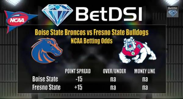 Free College Football Picks – Boise State vs. Fresno State Line -17