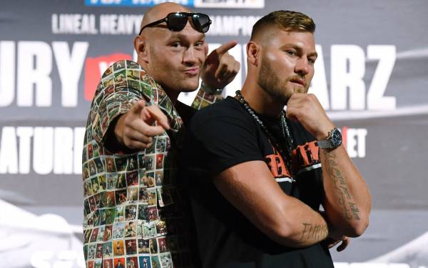 Schwarz vs. Fury Fight Odds - What Are The Payouts?