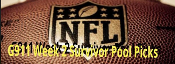 NFL Survivor Pool Tips - 2019 Week 2