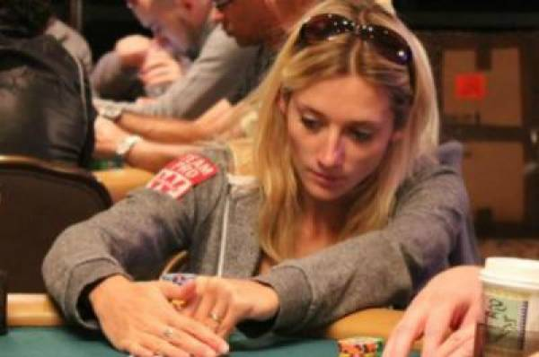 Gaelle Baumann Almost First Woman to Make Final Table of World Series of Poker M