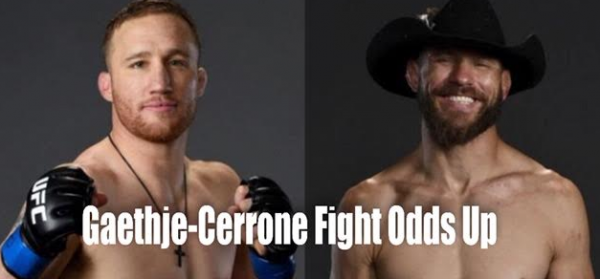 Donald Cerrone vs Justin Gaethje Fight Odds
