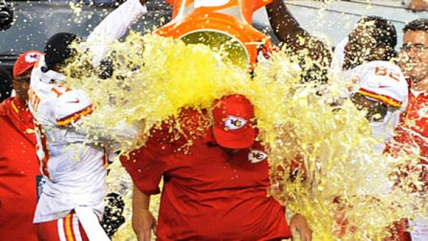 Payout on the Gatorade Bath Prop Bet Super Bowl 2020