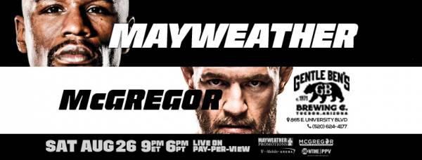 Where Can I Watch the Mayweather-McGregor Fight – Tucson, AZ
