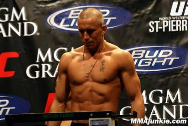 Odds On Georges St. Pierre vs. Josh Koscheck