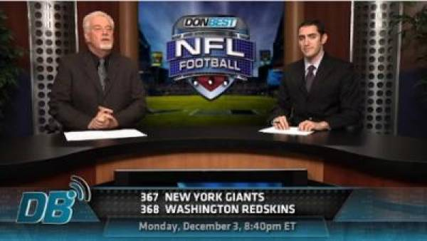 Giants vs. Redskins Free Pick – Monday Night Football (Video)