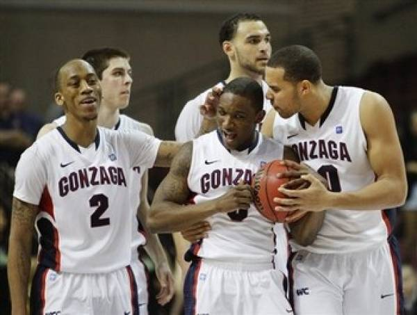 Gonzaga vs. St. Mary's Line