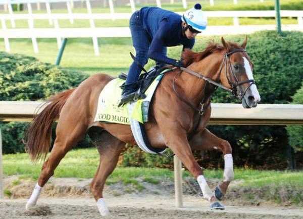 Odds on Good Magic Winning This Year's Kentucky Derby