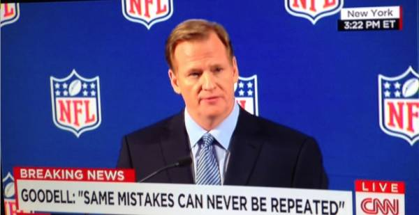 Roger Goodell Sticking Around as Odds Have Him -300 to Remain Commissioner