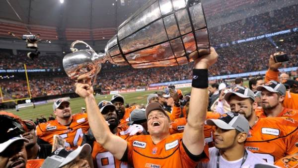 2018 CFL Grey Cup Pay Per Head, Bookie Futures