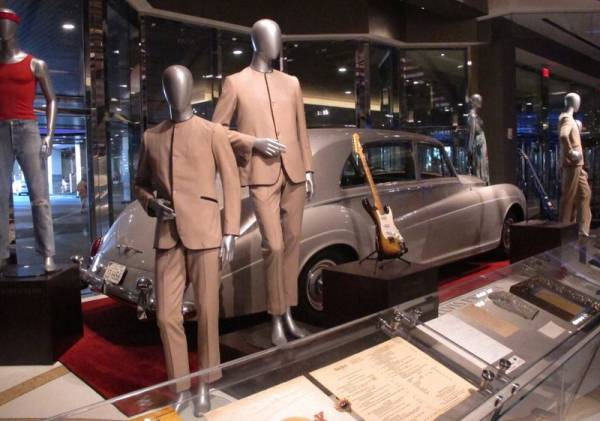 Elvis, Beatles Memorabilia Items on Display at Hard Rock AC